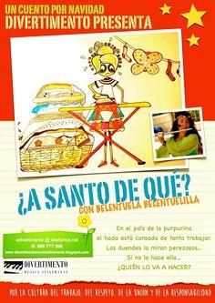 .: ¿A SANTO DE QUÉ? NUEVO CUENTO DE BELENTUELA BELENT...