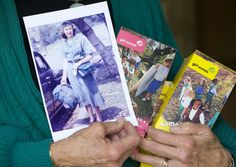 Girl Scouts at 100: Still 'courageous and strong' - The Orange County Register. Nancy Rose Teigen holds a 1956 photograph of herself in uniform as well as some boxes of Girl Scout Cookies.  Then 15, the Orange resident was departing for the first International Girl Scout Round-Up in Highland State Park, Milford, Michigan