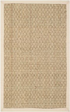 Safavieh Natural Fiber NF114A Natural Beige Rug. Rugs USA Fall Sale up to 80% Off! Area rug, rug, carpet, design, style, home decor, interior design, pattern, trends, home, statement, fall, autumn, cozy, sale, discount, interiors, house, free shipping.