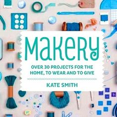 Makery Book. Yeah, it's here!