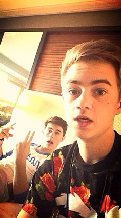 Jack and Nash, my two most favorite magcon boys. <3