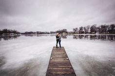 Indiana Winter Engagement by Michael Meeks Photography