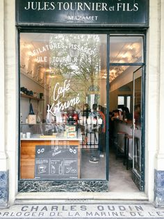 Cafe Kitsune Paris - http://ruffledblog.com/paris-honeymoon-guide-palais-royal #smallluxuryhotels