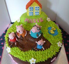 Peppa pig cake | Kirsty Mckelvey | Flickr