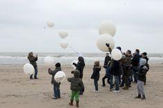 Ballonverstrooiing Zandvoort
