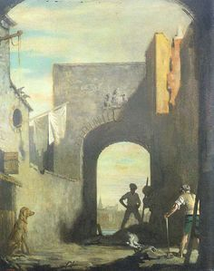 ORPEN'S - THE KNACKERS YARD