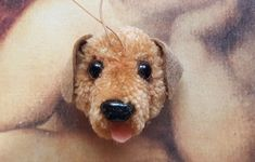Pom Pom Animals, Brin, Lana, Labrador, Whimsical, Felt, Teddy Bear, Dogs, Crafts