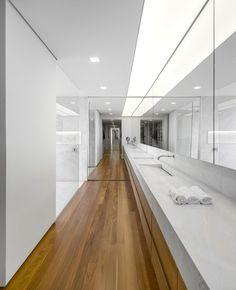 White and floor-through.