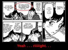 Detective Conan Meitantei Conan tropical land yeah right meme