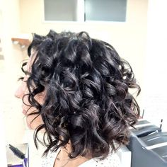 Bobs are super trendy right now and look stunning on anyone. Bobs are great because they can be in a range of colors and lengths, catering to anyone's... Bob Cuts, Gray Hair, Short Haircuts, Looking Stunning, Bobs, Fashion Forward, Catering, Curls, Short Hair Styles