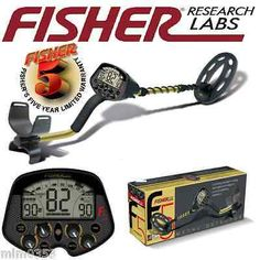 """Fisher F5 Metal Detector w 10"""" Elliptical Waterproof Search Coil - Free Shipping - http://electronics.goshoppins.com/gadgets-other-electronics/fisher-f5-metal-detector-w-10-elliptical-waterproof-search-coil-free-shipping/"""