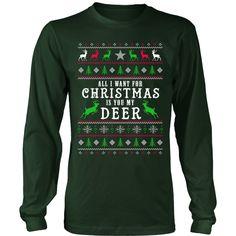 Deer Hunter Ugly Christmas Sweater (Tees & Hoodies)