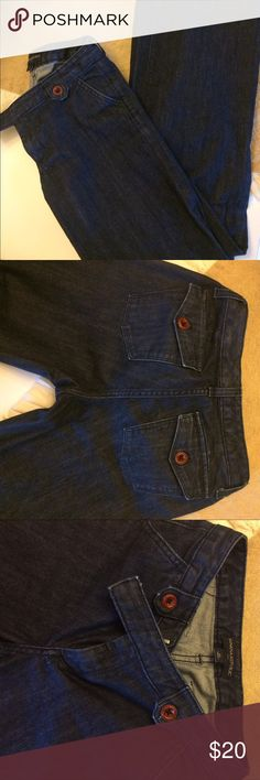 Banana Republic 2R Jeans Excellent condition Jeans from Banana Republic! Smoke and pet free home. Bundle and save! Banana Republic Jeans Flare & Wide Leg