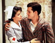 In Love and War, young Ernest Hemingway sends a letter to his great love Agnes von Kurowsky, a nurse eight years his senior. This was a great movie!