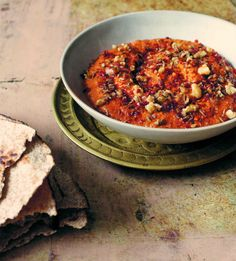 Smoky Walnut and Cumin Muhammara | Recipe from A Modern Way to Eat: 200+ Satisfying Vegetarian Recipes (That Will Make You Feel Amazing) by Anna Jones