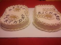 85th Birthday cake..