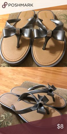 178d65feeed836 Joe Boxer Slip On Sandals Joe Boxer Slip On Sandals Latex material in Gray  with a