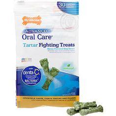 Nylabone Advanced Oral Care Tartar Fighting Dog Treats