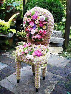 Floral - cadeira