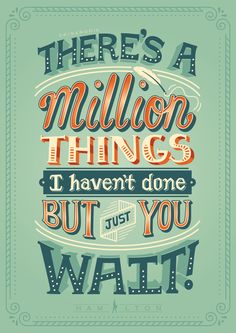 Letters4Ham: Hand-lettered Hamilton Lyric Posters on Behance