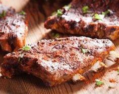 Travers de porc grillés aux épices Ingrédients