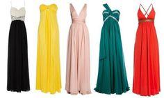 vestido longo de madrinha corpo pera - Pesquisa Google