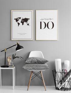 Modern Home Decor Interior Design Decor Room, Living Room Decor, Bedroom Decor, Home Decor, Interior Inspiration, Room Inspiration, Minimalist Decor, New Room, Modern Interior Design