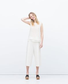 Image 1 of STRIPED TOP from Zara