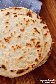 Receita de Pão Chapati | Indiano - para café da manhã ou lanche da tarde!