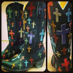 Old Gringo Oh My God Cowgirl Boots in black only at rivertrailmercantile.com!