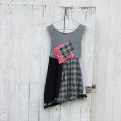 xsmall  small  / Upcycled clothing / Funky Dress  / by CreoleSha
