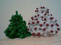 tuto,arbol de navidad con limpiapipas....