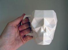 SkullsForChange skull Mug 3d printed