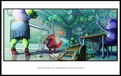 Art Challenge l Gagnants 2013 Mention spéciale du jury: GARNIER Magali / Les Gobelins / L'Amphisbène