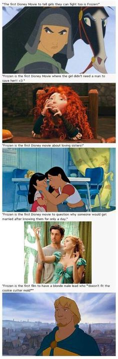 Frozen's one of the only bad Disney movies! How dare you say those things about something you don't even know! >:(