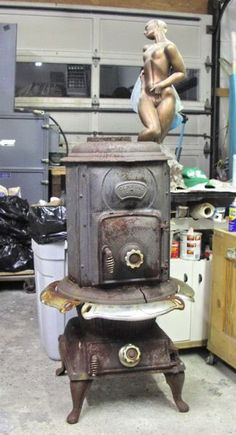 old and antique cole stoves   Antique Coal Stove