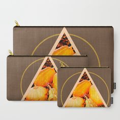 Minimal Pumpkins #society6 #decor #buyart Carry-All Pouch
