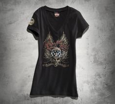 Show your independence without saying a word.   Harley-Davidson Rebel Soul Tee