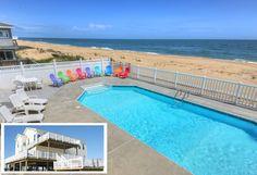 Sandbridge Beach House Rental: ** Awesome Oceanfront Home - Private Pool - Sandbridge Beach! | HomeAway