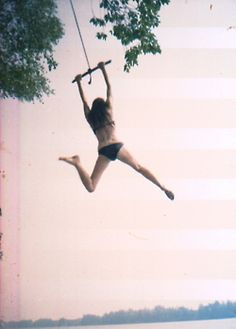 swing over the lake...the best :)