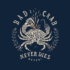 BAD CRAB by BMD ..., via Behance