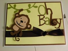 monkey baby create a critter card