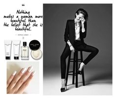 Black and White by sabinastrmen on Polyvore featuring Bobbi Brown Cosmetics