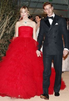 Best Dressed, Week of March 28, 2016: Who: Beatrice Borromeo Casiraghi, (with Pierre Casiraghi), What: Giambattista Valli Couture, Where: the Rose Ball in Monte Carlo, When: March 20, 2016. Photo: Getty.
