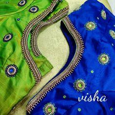 blouse designs latest No photo description available. Saree Tassels Designs, Pattu Saree Blouse Designs, Blouse Designs Silk, Designer Blouse Patterns, Bridal Blouse Designs, Sari Blouse, Hand Work Blouse Design, Simple Blouse Designs, Stylish Blouse Design