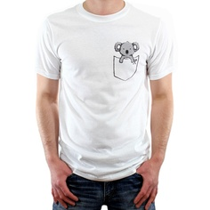 Pocket Koala Shirt from Koala Art & Design