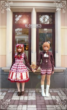 These coords r so cute! I also love the strawberry blonde hair :3