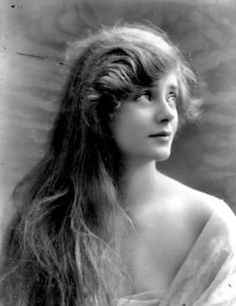 """Cleo de Merode, fashion icon, early 1900's, famous french dancer during the belle epoque as well as model for Alexandre Falguière's """"The Dancer""""."""