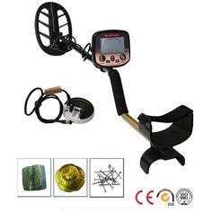 Free shipping FS2 Underground Metal Detector Double Probes Gold /Silver / Iron /Scanner
