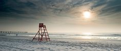 For more than 100 years, these lifeguard chairs were a symbol of strength and safety along 13 miles of coastline in North Florida. Jacksonville Beach Florida, Florida Beaches, Places To See, Places To Travel, Places Ive Been, Florida Images, Ocean Sounds, Romantic Beach, My Escape